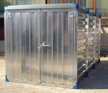 Tabella sezione cavi elettrici container lamiera for Box garage lamiera